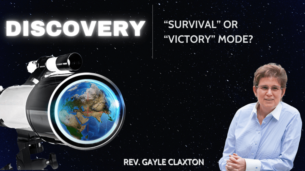 """Discovery – """"Victory"""" or """"Survival"""" mode?"""